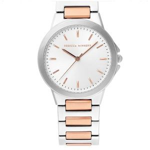 Rebecca Minkoff Cali Two Tone Bracelet Watch